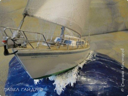 Яхта на волне. фото 9