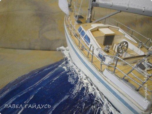 Яхта на волне. фото 10