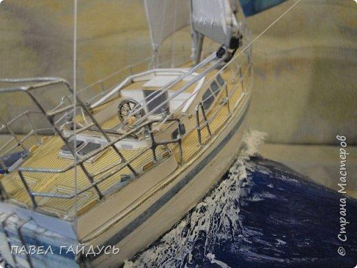 Яхта на волне. фото 11