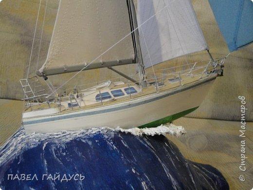 Яхта на волне. фото 22