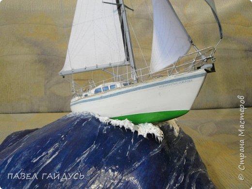 Яхта на волне. фото 21