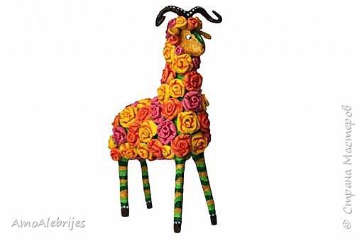 Цветущая овечка