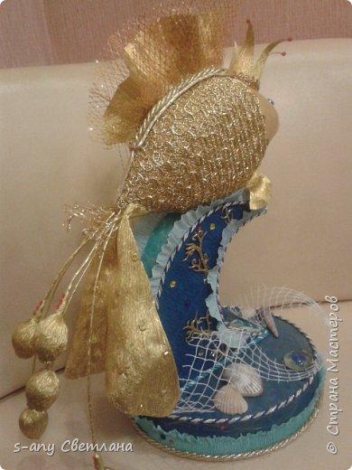 золотая рыбка- пожеланием  было меньше конфет, потому что ехала она к хозяйке  далеко  фото 2