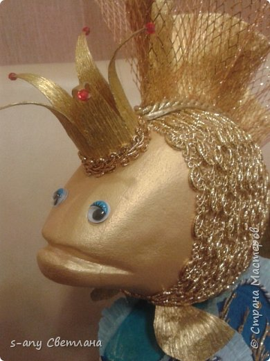 золотая рыбка- пожеланием  было меньше конфет, потому что ехала она к хозяйке  далеко  фото 4