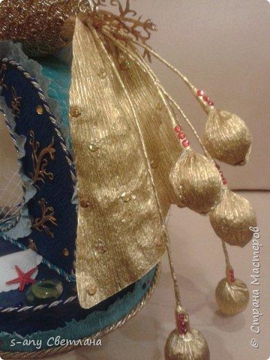золотая рыбка- пожеланием  было меньше конфет, потому что ехала она к хозяйке  далеко  фото 3