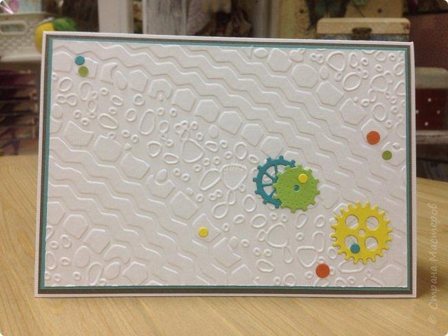 Вот такая яркая открытка для мальчишки на День рождения, который увлекается BMX фото 6
