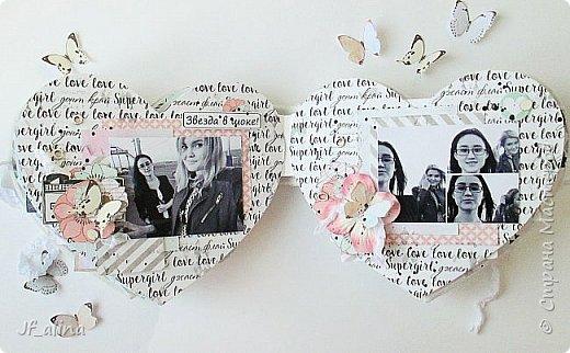 """Всем здравствуйте!  Хотела бы поделиться с вами альбомом, с которым я победила во втором этапе СП """"Неформатные альбомы"""" в блоге Мухи творчества http://myhi-creativiti.blogspot.ru/2016/03/2_26.html .  Альбом сделала для своей любимой сестренки. Она у меня студентка и обожает делать селфи. Некоторые из этих фотографий я обработала в черно-белом цвете, из некоторых сделала коллажи. Для альбома я использовала набор бумаги фирмы Каралики """"Supergirl"""". Мне кажется, она просто создана, для такого чтобы подчеркивать молодость и легкость ))) И два листа из разных коллекций Scrapberry's (""""You & me"""" и """"Бабочки""""). Размер альбома примерно 16*14 см. фото 16"""