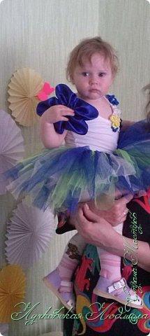 Вот нашей доченьки и годик!!! Сделала несложный декор для украшения комнаты и наряд. фото 6