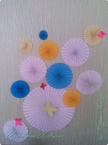 Вот нашей доченьки и годик!!! Сделала несложный декор для украшения комнаты и наряд. фото 1