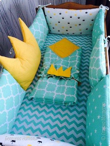 Малышу в кроватку. Комфортно и красиво.