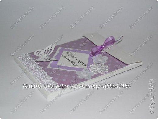 Осенние и зимние работы. Конвертик для племянницы,в подарок.Это был первый конвертик,очень долго его делала,но результатом довольна.Размер 12*10*0,5 см. фото 6