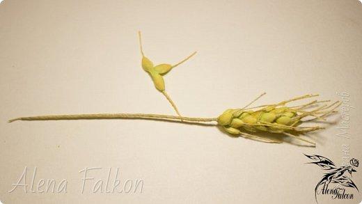 Хочу показать вам, как я делаю пшеничный колосок из фоамирана.  Недавно мне поступил заказ на свадебные украшения с такими колосьями. Посмотрев несколько мастер-классов, я поняла, что все они достаточно трудоемкие по времени. Для меня же время — очень важный фактор. Поэтому я сделала колосок по-своему. И с радостью делюсь с вами своим способом изготовления пшеничного колоса.  фото 32