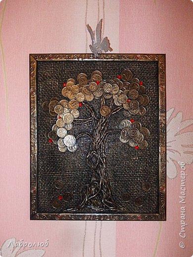 Денежное дерево в рамке фото 2