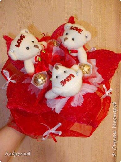 букеты из игрушек фото 1
