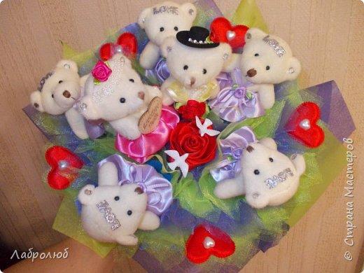 букеты из игрушек фото 5