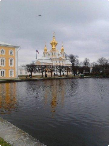 До чего же красиво в Петергофе!  Золотой Каскад. Самый большой из всех каскадов. фото 4