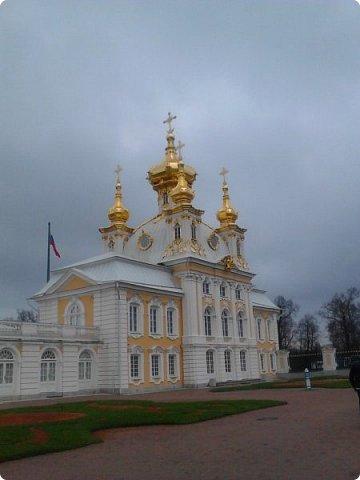 До чего же красиво в Петергофе!  Золотой Каскад. Самый большой из всех каскадов. фото 5