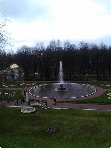 До чего же красиво в Петергофе!  Золотой Каскад. Самый большой из всех каскадов. фото 9