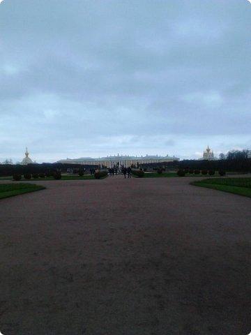 До чего же красиво в Петергофе!  Золотой Каскад. Самый большой из всех каскадов. фото 15