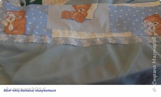 "Балдахин на детскую кроватку ""Ми-ми-мишки""  фото 7"