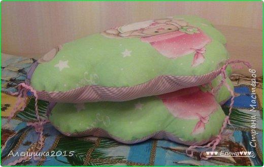 Бортики-облачка в кроватку  фото 5