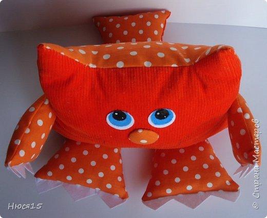 Здравствуйте, жители страны мастеров. Не судите строго:) это мои первые подушки-котэ... фото 5