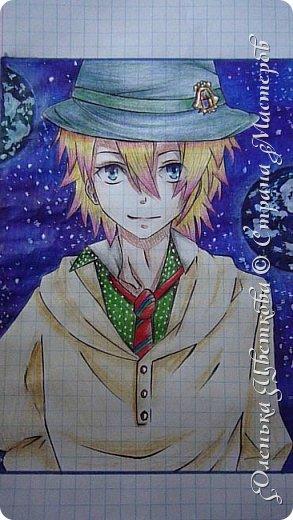 """Сё Курусу - персонаж аниме """"Поющий принц"""". Вокалист группы """"Starish"""". Играет на скрипке. Ему 16 лет, вместе с Отоей Иттоки самый младший в группе. Родился 9 июня, по знаку зодиака - близнецы. фото 1"""