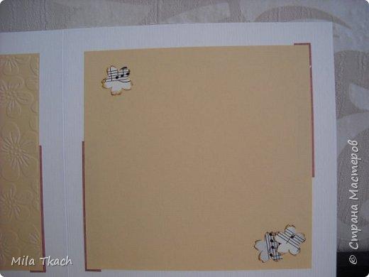 Доброе время суток! Хочу показать две открытки которые сложились просто так, без всякого повода. Первая вот такая Весенне-зелененькая получилась. фото 6