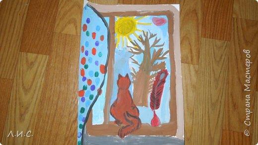Доча очень любит рисовать,хочу поделиться с Вами своей гордостью и представить здесь некоторые из её работ. фото 1
