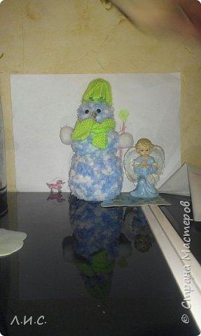 """Одна из наших """"детсадовских"""" поделок-шляпка из пластиковой баночки.. фото 5"""