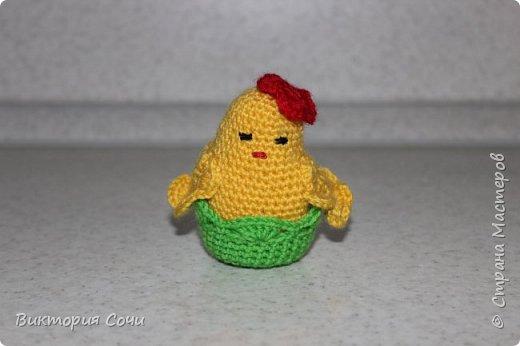Вот как мы готовились к празднику - пасхальная курочка с цыплятами и яичками! фото 2