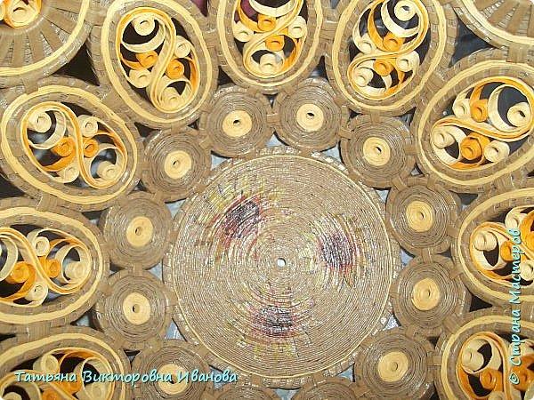 """Здравствуйте жители нашей замечательной страны!  Вновь я подготовила для вас новую коллекцию вазочек, выполненных в технике """"Бумажная филигрань"""". Приятного вам просмотра! фото 15"""