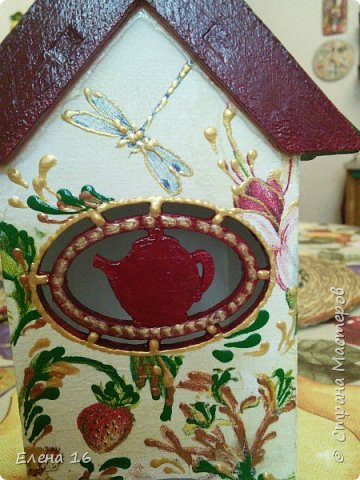 Домик для чайных пакетов фото 5