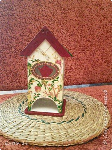 Домик для чайных пакетов фото 4