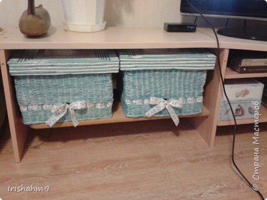 """Эти коробочки я сплела для себя любимой. Для хранения своих """"хомячьих"""" запасов. фото 3"""