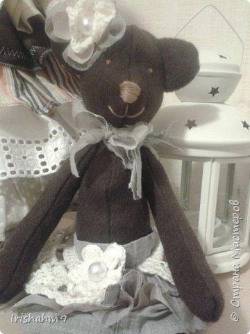 Вот такую Медвежку сшила из шоколадного фетра. фото 1