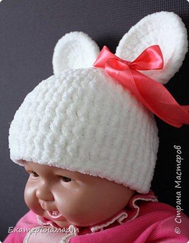 Решила связать шапочки для младенцев для фотосъемки =) вот, что у меня получилось =) фото 14