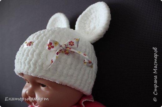 Решила связать шапочки для младенцев для фотосъемки =) вот, что у меня получилось =) фото 7