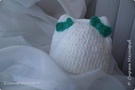 Решила связать шапочки для младенцев для фотосъемки =) вот, что у меня получилось =) фото 10