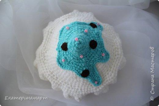 Решила связать шапочки для младенцев для фотосъемки =) вот, что у меня получилось =) фото 11