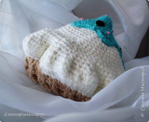 Решила связать шапочки для младенцев для фотосъемки =) вот, что у меня получилось =) фото 12