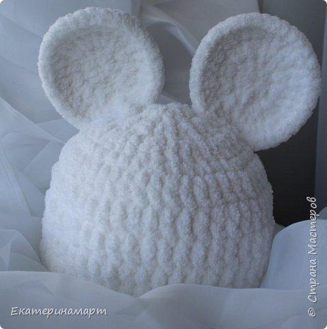 Решила связать шапочки для младенцев для фотосъемки =) вот, что у меня получилось =) фото 13