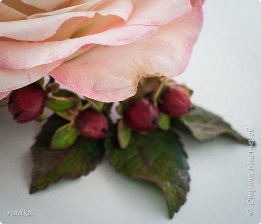 Гребень. Очередная попытка сделать розу, тяжело они мне даются :) фото 3