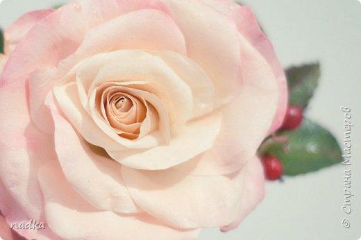 Гребень. Очередная попытка сделать розу, тяжело они мне даются :) фото 1
