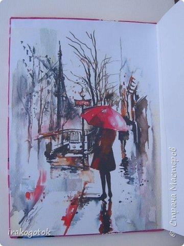 SketchBook для очаровательной Леди! Работа была выполнена на заказ фото 2