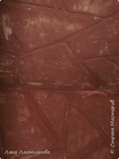 Вот такая у меня получилась каменная стена под песчаник. ХОД РАБОТЫ: фото 6