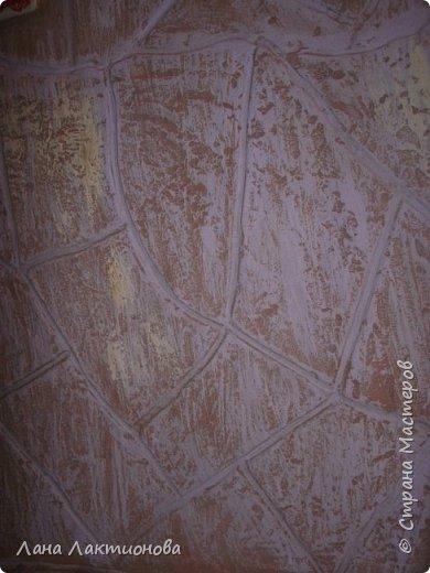 Вот такая у меня получилась каменная стена под песчаник. ХОД РАБОТЫ: фото 10