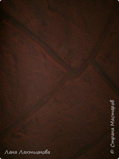 Вот такая у меня получилась каменная стена под песчаник. ХОД РАБОТЫ: фото 7