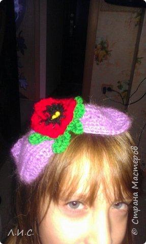 """Одна из наших """"детсадовских"""" поделок-шляпка из пластиковой баночки.. фото 4"""