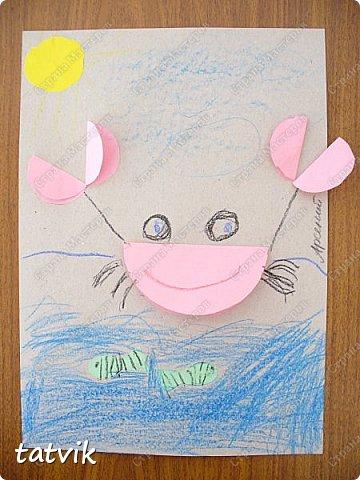 Решили с ребятами 5-6 лет сделать таких крабиков. Нетрудно и интересно. За идею спасибо Людмиле Т. http://stranamasterov.ru/node/933395?c=favorite . Детские работы получились разные и такие выразительные. фото 6